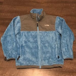 Youth The North Face fleece jacket